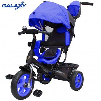 3-х колесный велосипед galaxy лучик vivat синий