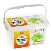 Бурляшки для ванны своими руками яблочные