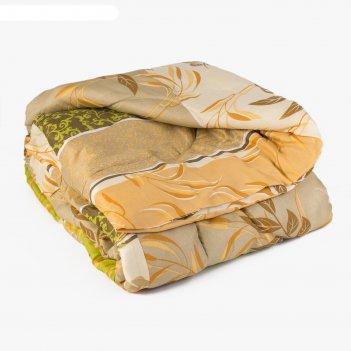 Одеяло 172х205 см, цвет микс, синтепон