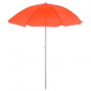 Зонт пляжный классика, d=150 cм, h=170 см, микс