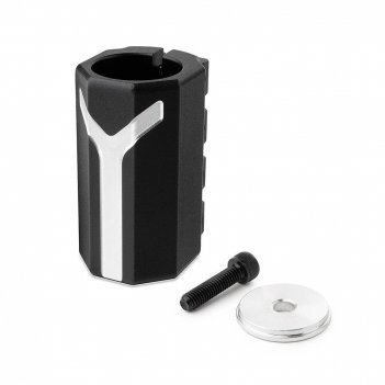 Хомут-y fox scs d 28.6 and 31.8,  4 bolts black
