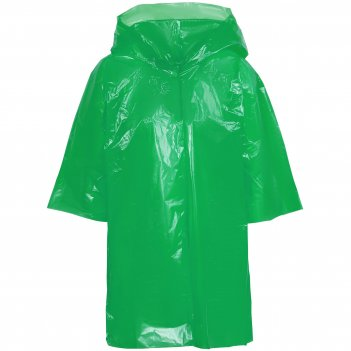 Дождевик-плащ детский brightway kids, зеленый