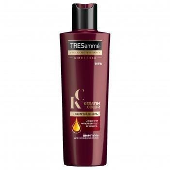 Шампунь для волос tresemme keratin color для окрашенных волос, с экстракто