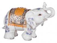 Фигурка-слон белый сохранение верности высота-41...