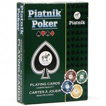 Карты игральные про покер (piatnik)