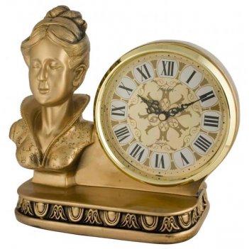 Скульптурные часы из полимерных смол восток 8373-1