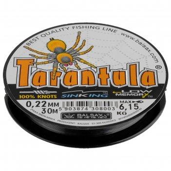 Леска tarantula 0.22 30м