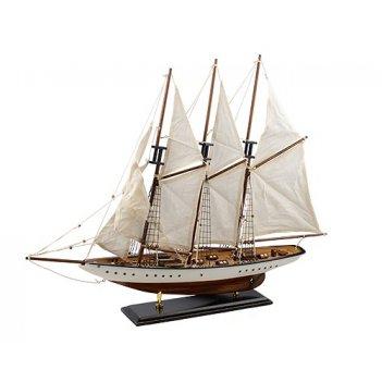 Парусник деревянный velero l 56 см h 57 см