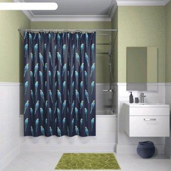 Штора для ванной комнаты iddis b08p218i11, 200x180 см, полиэстер