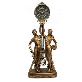 Скульптурные часы восток из полимерных смол к4601-1-1 восток