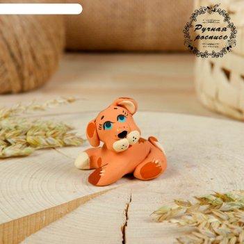 Сувенир ковровская глиняная игрушка «собачка»