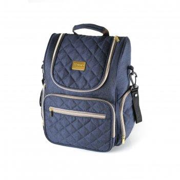 Рюкзак для мамы f3, цвет джинсовый