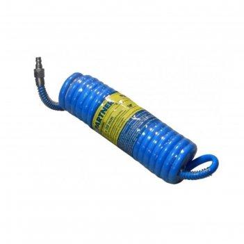 Шланг витой полиуретановый partner pa-1208-20m, 8х12 мм х 20м, с быстрораз