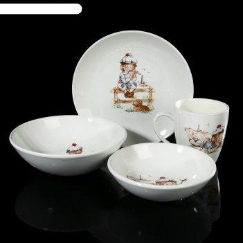 Набор посуды соната. юнга, 4 предмета