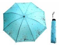 Зонт механический прогулка влюбленных, цвет ментоловый