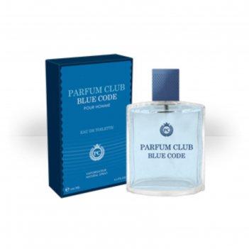 Туалетная вода мужская parfum club blue code, 100 мл