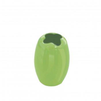 Стаканчик для зубной щетки shiny, зеленый