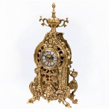 Часы каминные дракон
