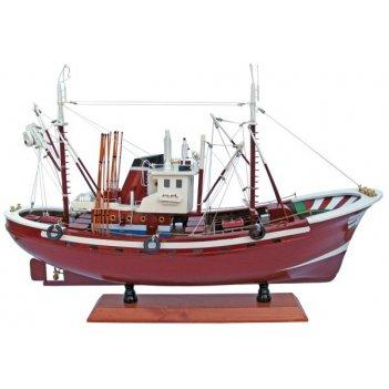 Рыболовное судно. l:58cm, h:40cm. арт.270