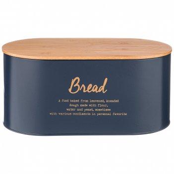 Хлебница 2 в 1  agness midnight34*18*15 см