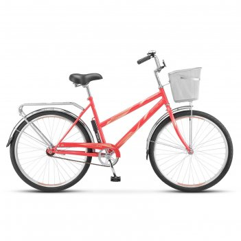 Велосипед 26 stels navigator-210 lady, z010, цвет коралловый, размер 19