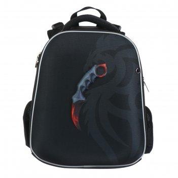 Рюкзак каркасный hatber ergonomic classic 37 х 29 х 17, для мальчика karam