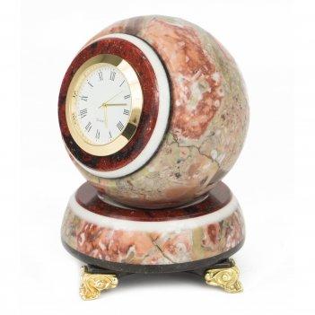 Часы шар антистресс креноид 85х85х125 мм 1300 гр.