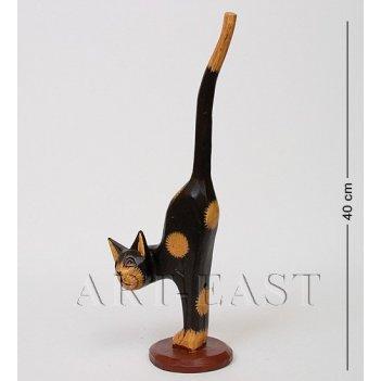 28-041 статуэтка кот черный 42 см