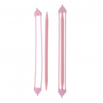 Спицы для вязания вспомогательные для снятия петель 2 шт в пакете, 20*1,8