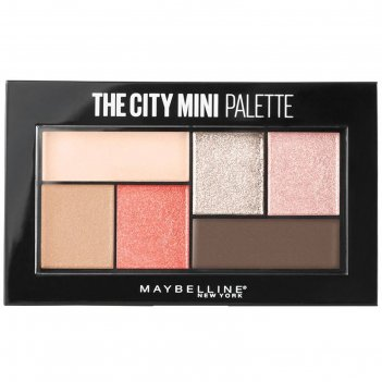 Палетка теней для глаз maybelline the city mini, оттенок 430 downtown sunr
