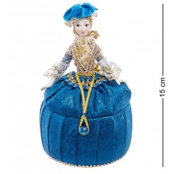 Rk-732/11 кукла-шкатулка дама в вечернем платье