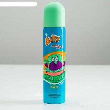 Пена для игры baffy в ванне, цетная, зелёная, 75 мл