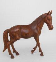 15-026 статуэтка дикая лошадь 50 см суар