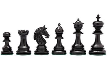 Шахматные фигуры ручной работы из эбена, 11см