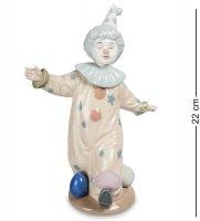 Cms-23/24 фигурка клоун с шариками (pavone)