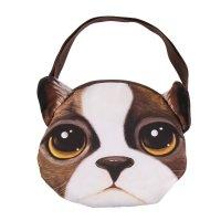 Мягкая сумка песик, большие глазки