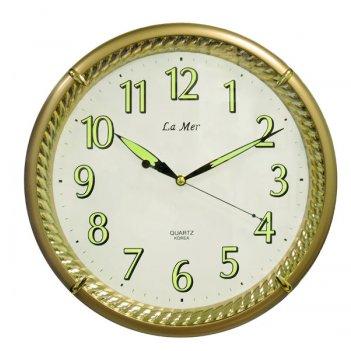 Часы настенные для дома и офиса la mer gd067006