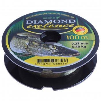 Леска моно. salmo diamond exelence 100м 0,27мм