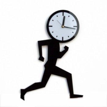 Часы бегун cl118 28х39см