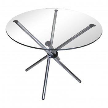 Стол обеденный «орион 1», со б (не триплекс, 8 мм), 900 x 900 x 740 мм