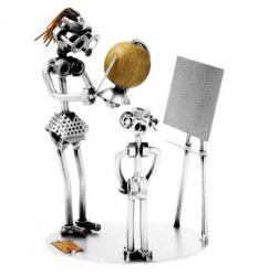статуэтки металлические