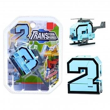 Робот-трансформер двойка