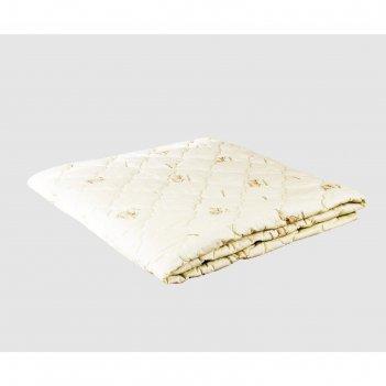 Одеяло лёгкое, размер 172 x 205 см, овечья шерсть