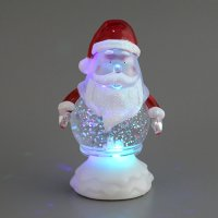 Изделие декоративное дед мороз с подсветкой высо...