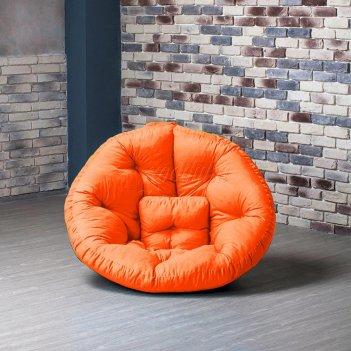 Кресло оустер бостон xl рыжий xl