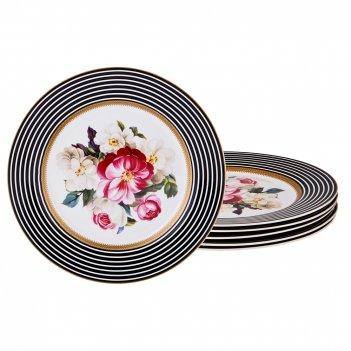 Набор десертных тарелок валуар из 6 шт диаметр=19,5 см (кор=12набор.)