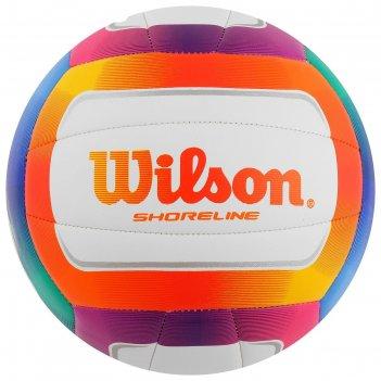 Мяч воллейбольный wilson shoreline, арт. wth12020xb, размер 5, 18 панелей,