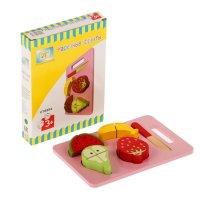 Логическая игрушка нарезные фрукты