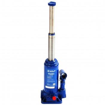 Домкрат бутылочный ae&t t02002,  двухштоковый, 2т, 180-400мм, 2.2кг