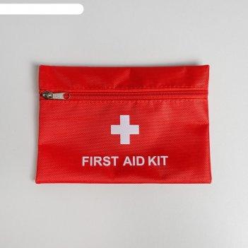 Косметичка дорожная first aid, 20*14 см